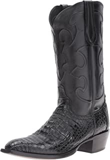 27a7eb3c2ec Amazon.com | Lucchese Men's Handmade Classics Caiman Ultra Belly ...
