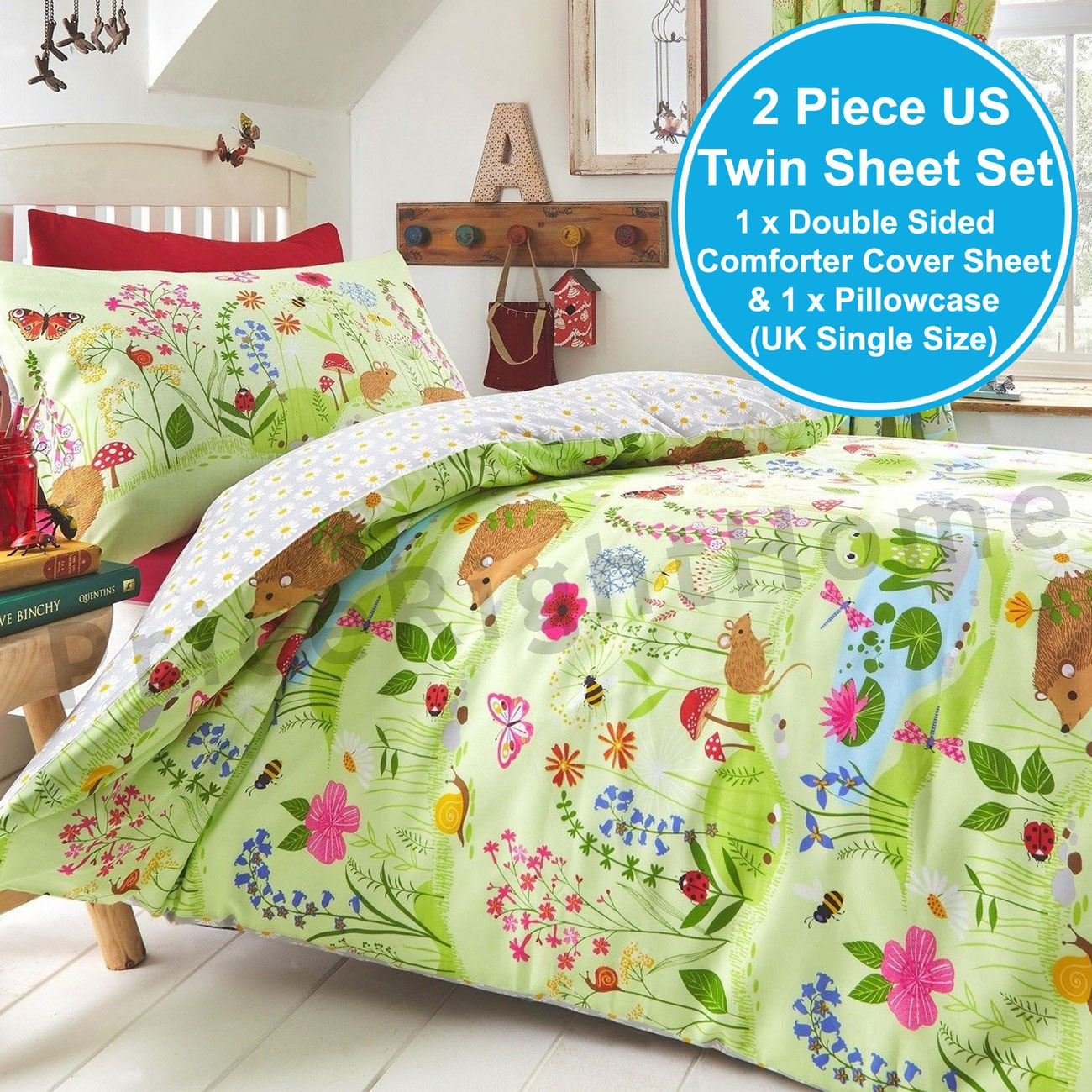 Animals Kids Club Bluebell Woods Single Duvet Cover Set by Animals (Image #3)