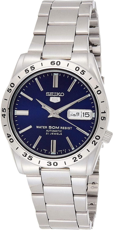 Seiko Reloj Analógico Automático para Hombre con Correa de Acero Inoxidable – SNKD99K1
