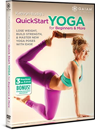 Amazon.com: Kathryn Budigs QuickStart Yoga for Beginners ...