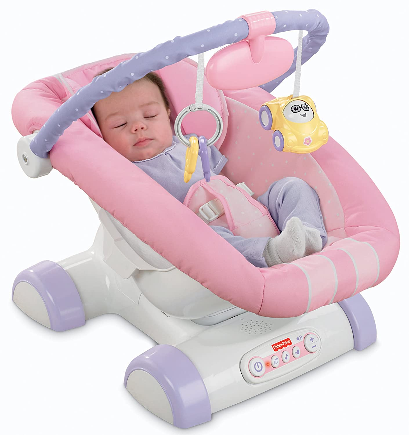 Amazon Fisher Price Cruisin Motion Soother Pink