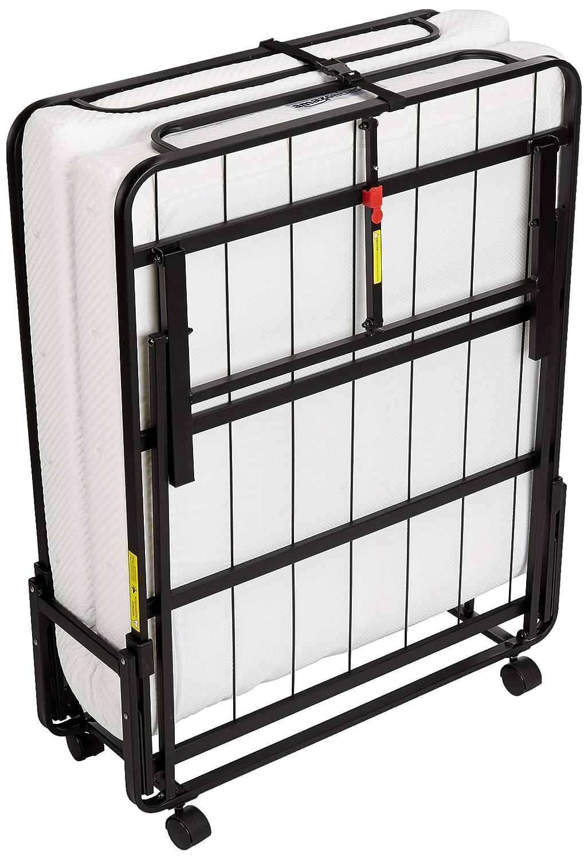 Amazonbasics Premium Rollaway Single Folding Steel Bed With