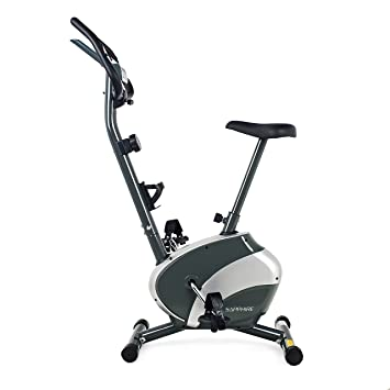 Heimtrainer Fitnessbike 2in1 Fitness Fahrrad klappbares Trimmrad bis 120kg