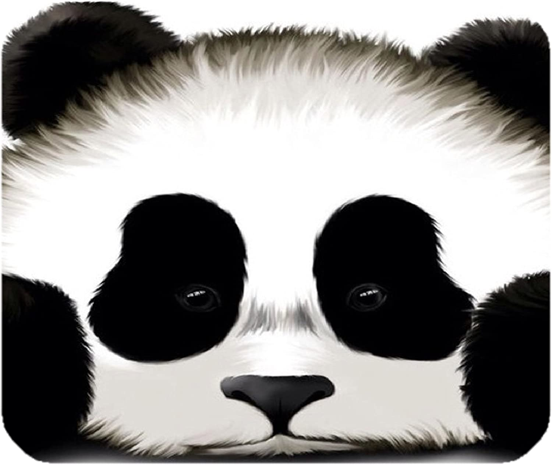Custom Cute Panda Gaming Mouse Pad Durable Office Accessory Rubber Mousepad Mat
