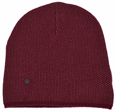 22c3c8cd46f54b Gucci Men's Lightweight Burgundy Beige Wool Cashmere Beanie Ski Winter Hat:  Amazon.ca: Clothing & Accessories