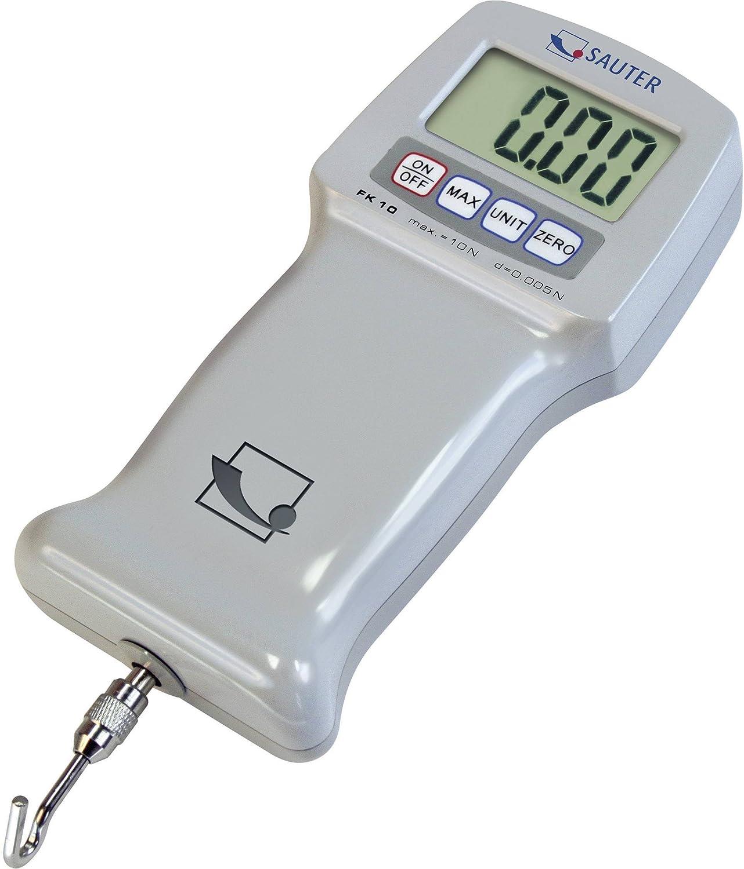Dynamomètre Robuste Pour Mesures Simples En Traction Et Compression [Sauter FK 1K] Plage De Mesure [Max]: 1000 N, Lecture: 0,5 N For Demand Lda. WME1K