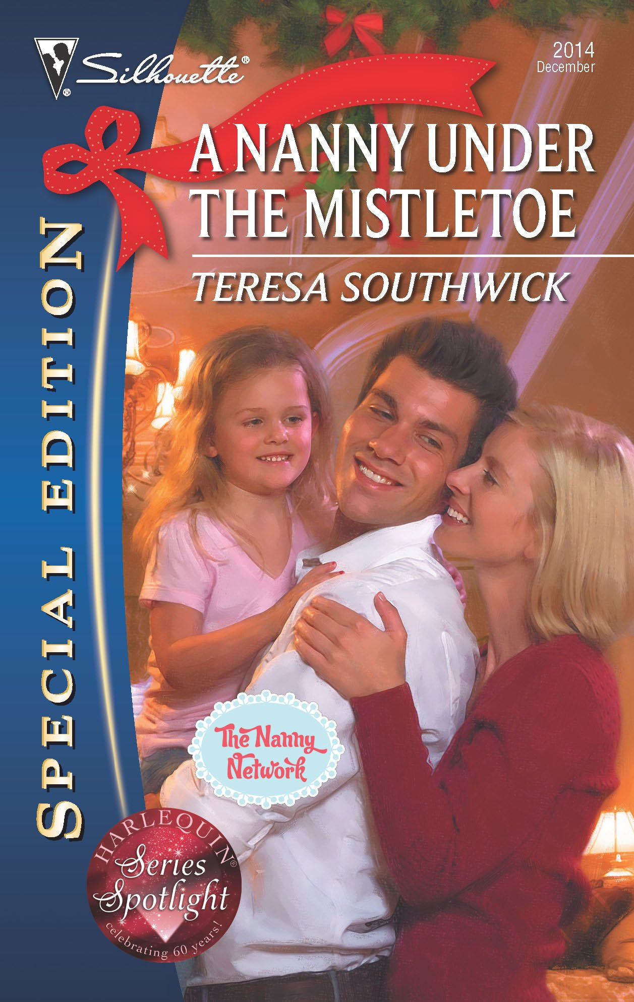 A Nanny Under the Mistletoe (Silhouette Special Edition, No. 2014 / The Nanny Network, Book 3) pdf epub