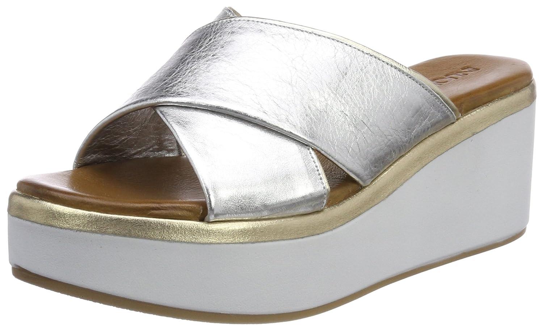 Inuovo Damen 8678 Zehentrenner  38 EU|Silber (Silver-gold)