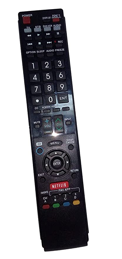amazon com replaced remote control compatible for sharp lc 70c7450u rh amazon com Sharp Viewcam Camera Of VL Pics Sharp Ah50u