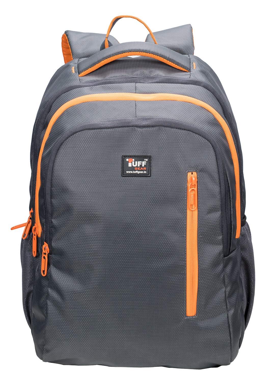 2c9f0ba394 Tuff Gear Denmark 23 L Polyester College Bag (Grey): Amazon.in: Bags,  Wallets & Luggage
