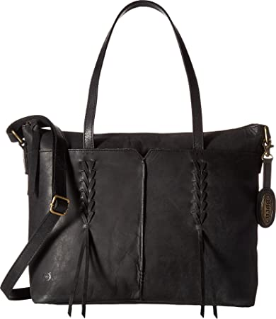 917ea226bd Buy Born Womens Distressed Leather Tote Black One Size One Size Online at  Low Prices in India - Amazon.in