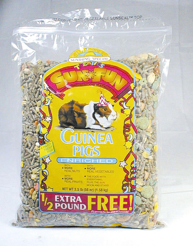 Sun Seed Company Sun Fun Guinea Pig Food 3.5lb