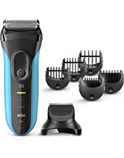 Braun Electric Razor for Men, Series 3 3010Bt Electric Shaver & Beard Trimmer, Rechargeable, Wet & Dry Foil Shaver