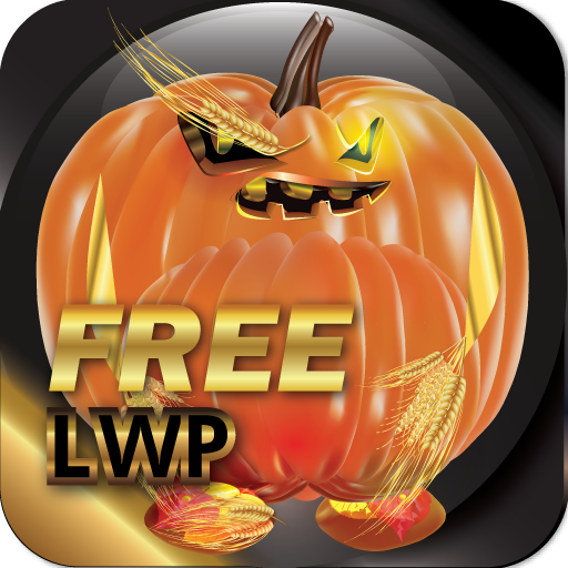 Pumpkin LWP Free: HD+ Halloween Live Wallpaper -