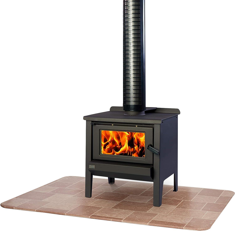 HY-C T2UL3648WW-1C Stove Board 36 x 48 Wood Grain UL1618 Type 2 ...