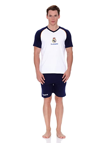 Licencias Pijama Real Madrid Blanco/Marino S