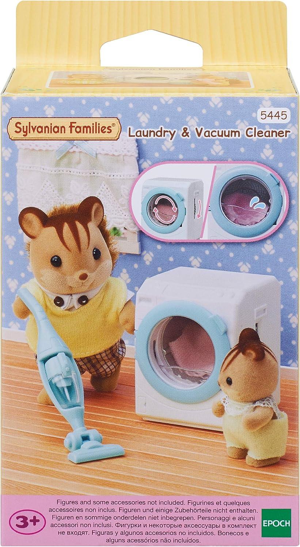 Sylvanian Families - 5445 - Set de lavadora y aspiradora: Amazon.es: Juguetes y juegos