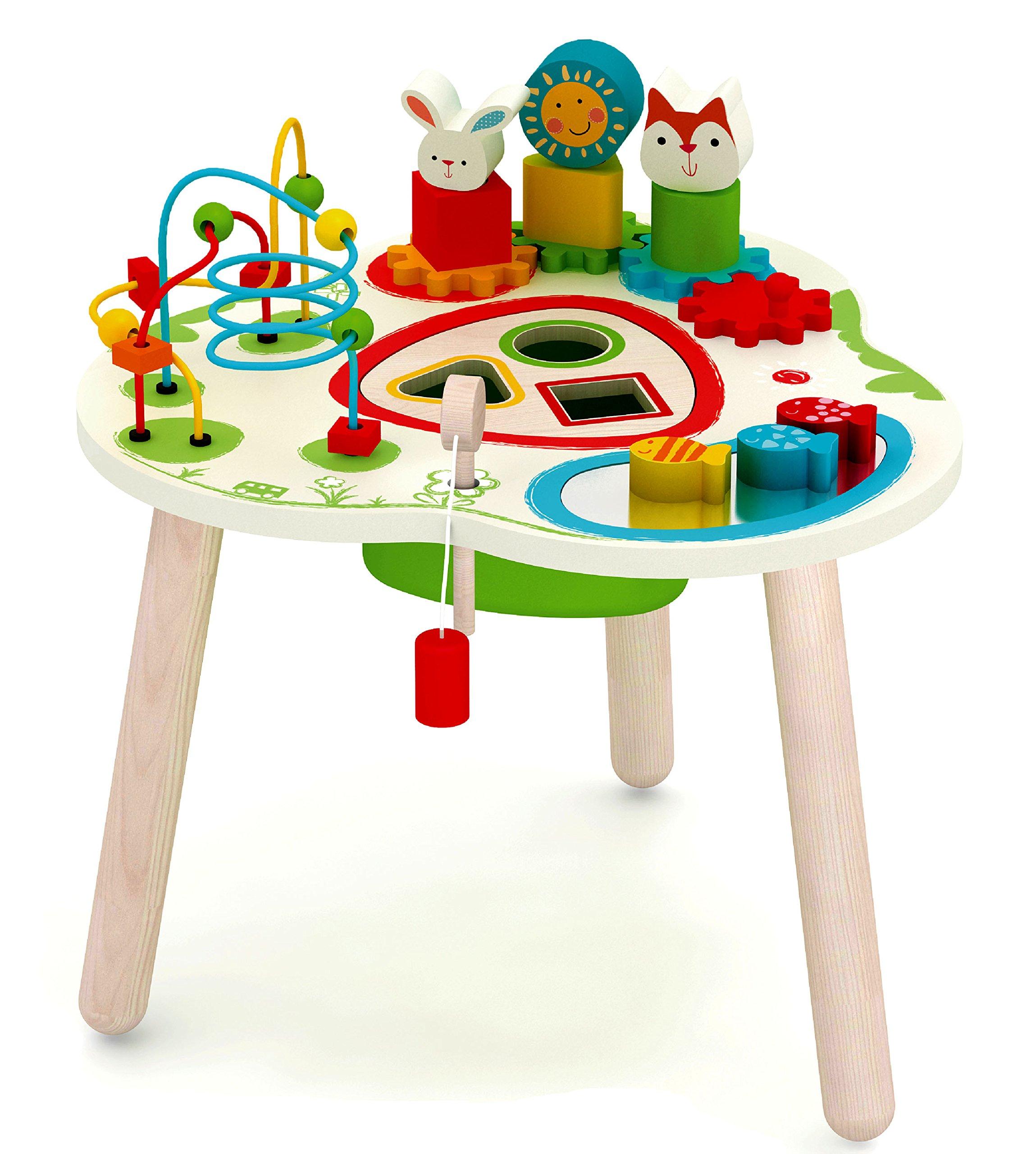 Wooden Adventure Table Activity Center