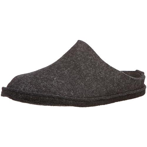 Haflinger Unisex – Adulto 311010 pantofole Grigio Size: 40 EU
