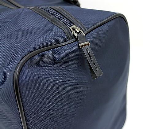 539e52ee19fb MICHAEL KORS MEN DARK BLUE JET SET LARGE DUFFLE   HOLDALL   WEEKEND   TRAVEL  BAG  Amazon.co.uk  Luggage