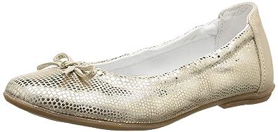 Ramdam Kiki, Mädchen Slingback Ballerinas, Beige - Beige - Beige (53 SVT Beige Imp Métal DPF/Forte) - Größe: 38