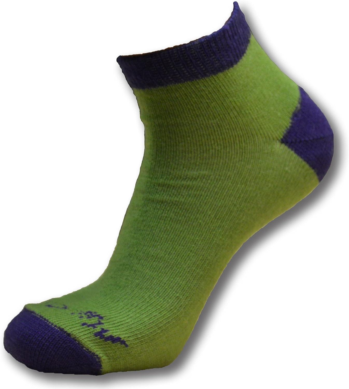 Small, Lime Green My Comfy 7 Colors Summer Bright Alpaca Sport Sock
