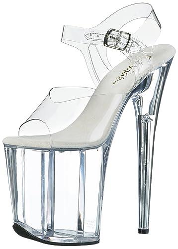 4eb37cd585726a Pleaser Women s Flamingo-808 Platform Sandal