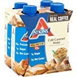 Atkins Ready To Drink Shake, Café Caramel, 11 Ounce (Pack of 12)