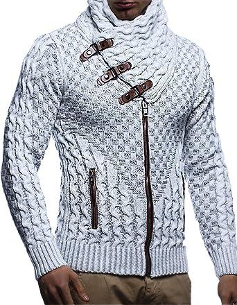 839679470457ba LEIF NELSON Herren Jacke Pullover Strickjacke Hoodie Sweatjacke  Freizeitjacke Winterjacke Zipper Sweatshirt LN5340;