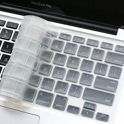 Masino® - Funda de silicona con teclado ultra delgado, teclado piel para versió