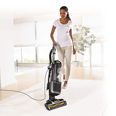 Shark Navigator Zero-M Self-Cleaning Brushroll Pet Pro (ZU62) Upright Vacuum, Pewter Grey Metallic