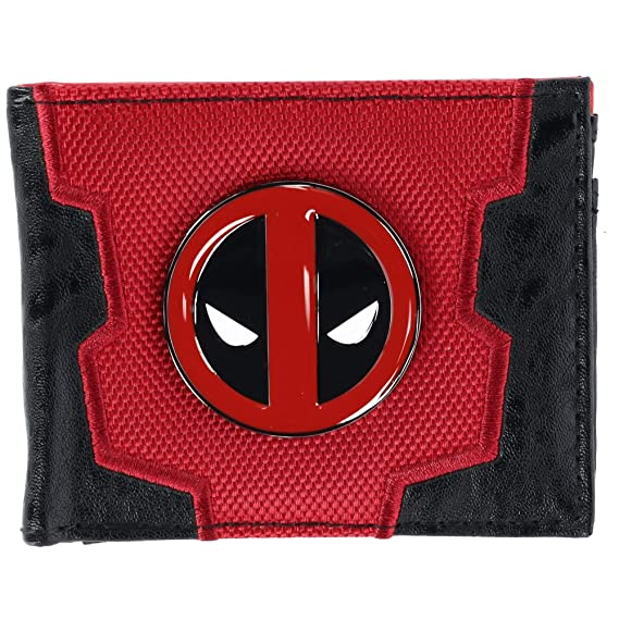 Marvel Comics Deadpool traje hasta caja Bifold Wallet: Amazon.es ...