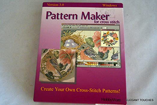 Amazon pattern maker for cross stitch 30 software pattern maker for cross stitch 30 stopboris Image collections