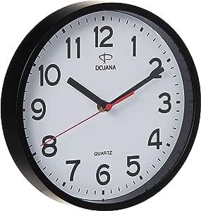 Dojana Wall Clock With Alarm Clocks, 2 Pcs, DA116-DWG337