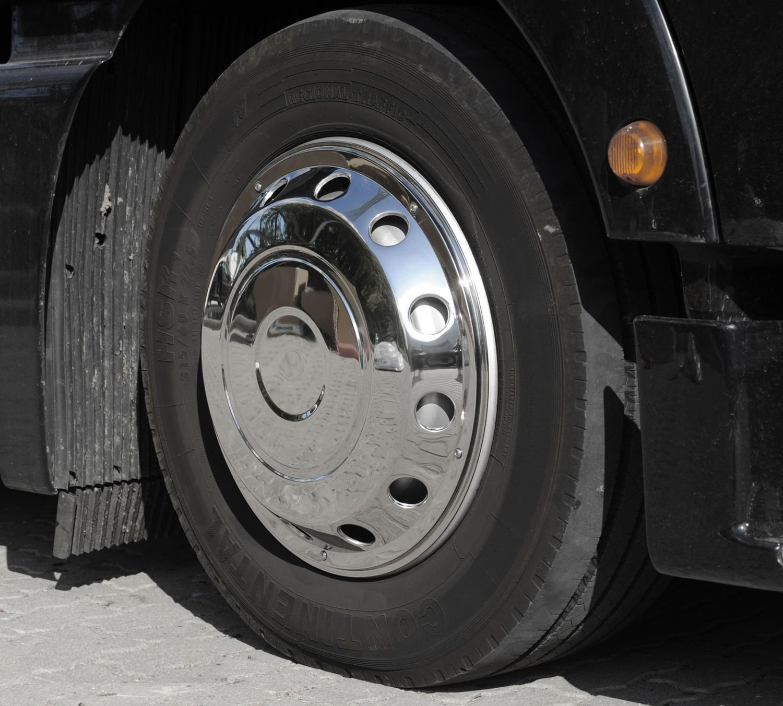 2 pieza universal Tapacubos 22,5 pulgadas - Encorvada - Eje delantero para camiones: Amazon.es: Coche y moto