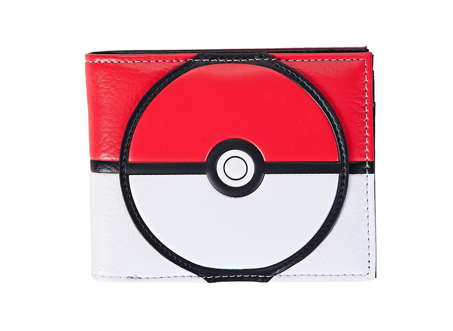Pokemon Poke Ball Bifold Wallet Bioworld MW4F2KPOK