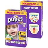 Paquete de pañales para bebé con diseños Pufies Art&Dry Sweet Treats - 116 pañales estampados de