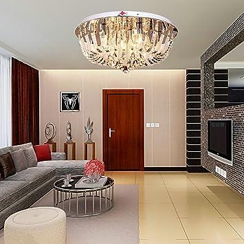 oofay lightlmpara de techo moderna cristal para sala de estar de piezas