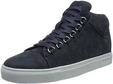 Blackstone KM20, Montantes Homme - Bleu - Bleu (Marine), 40 EU