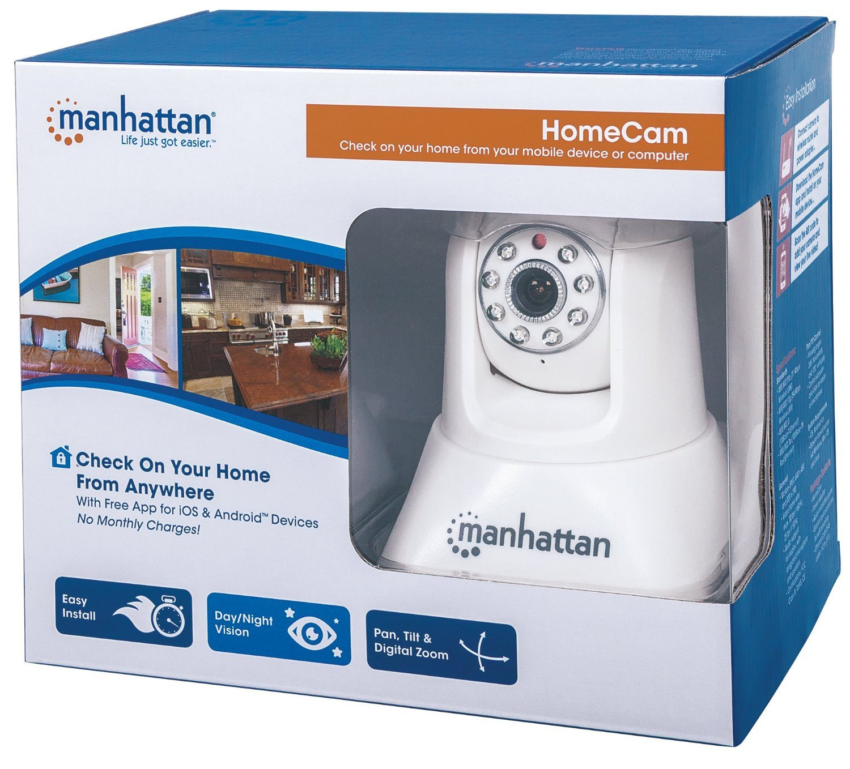 MANHATTAN 551359 Home Cam (White) [並行輸入品] B01HONP7SK