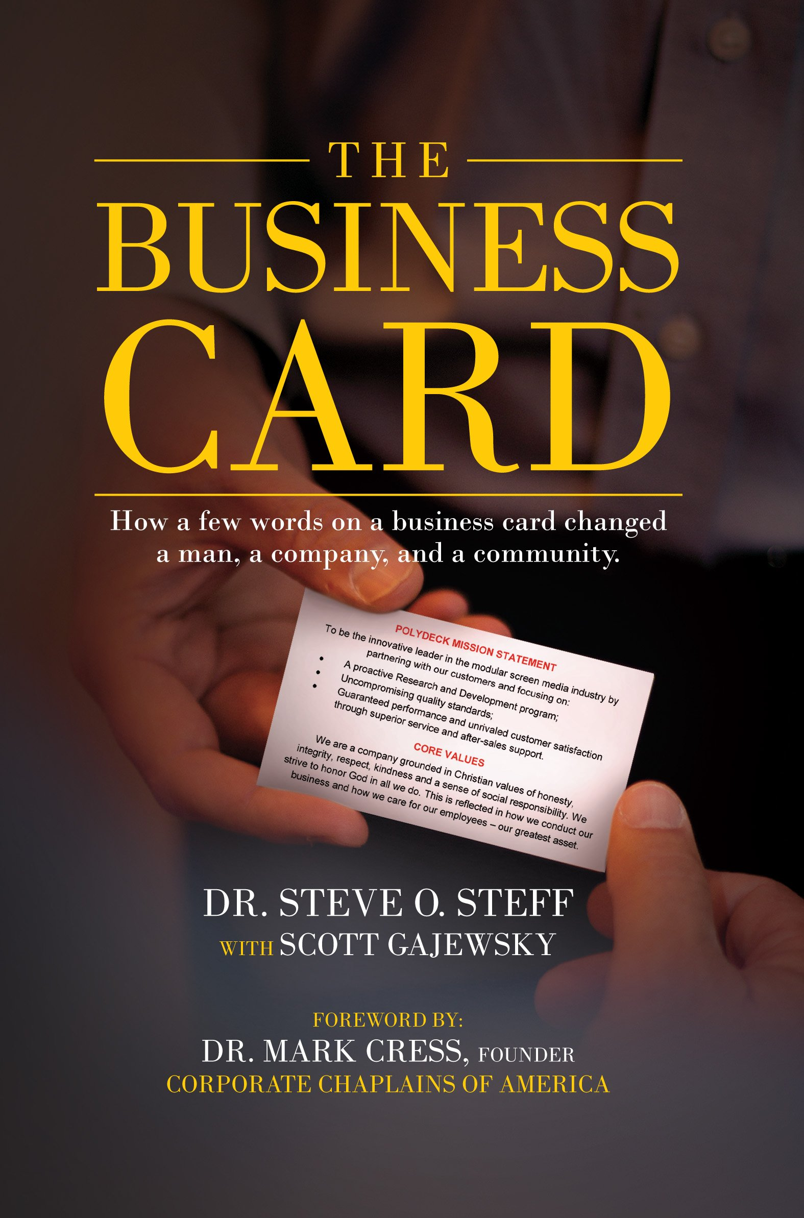 the business card dr steve o steff