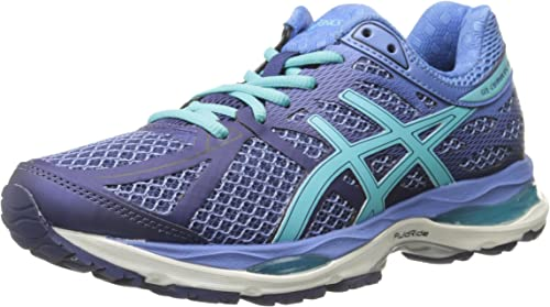 ASICS Damen Gel Cumulus 17 w, Deep CobaltTürkisDutch Blue