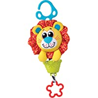 Playgro Musical Pullstring Lion Squeek Toy, Multi, (018378219)