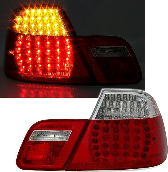 Ad Tuning Led Rückleuchten Set Klarglas Rot WeiàŸ Auto