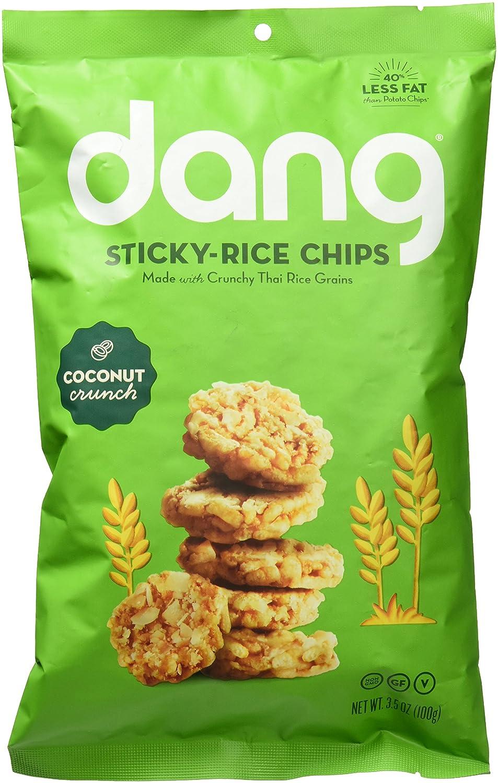 Dang Single Serve chips de arroz adhesivos, receta original ...