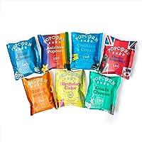 Popcorn Shed Exclusief Popcorn Proefpakket, 7 unieke smaken in handige snack packs, Perfect om cadeau te geven of zelf…
