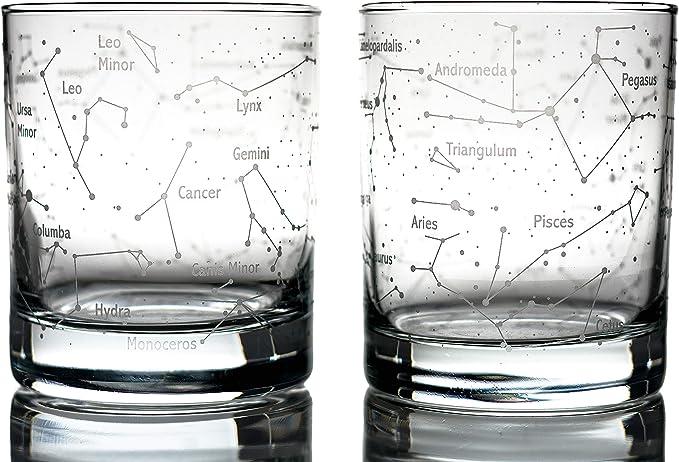 Constellation Whiskey Glasses