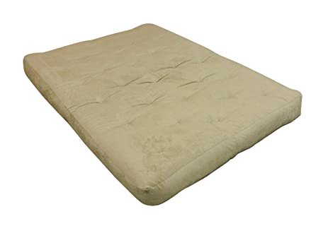 gold bond 0707i0 0160 8 u0026quot  all cotton futon mattress microfiber king amazon    gold bond 0707i0 0160 8   all cotton futon mattress      rh   amazon