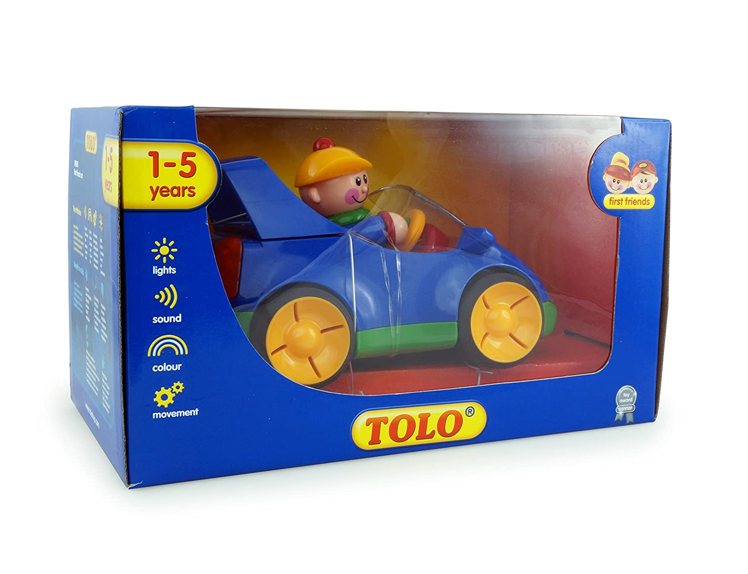 Sonstige Primary Colors Tolo Toys First Friends Car