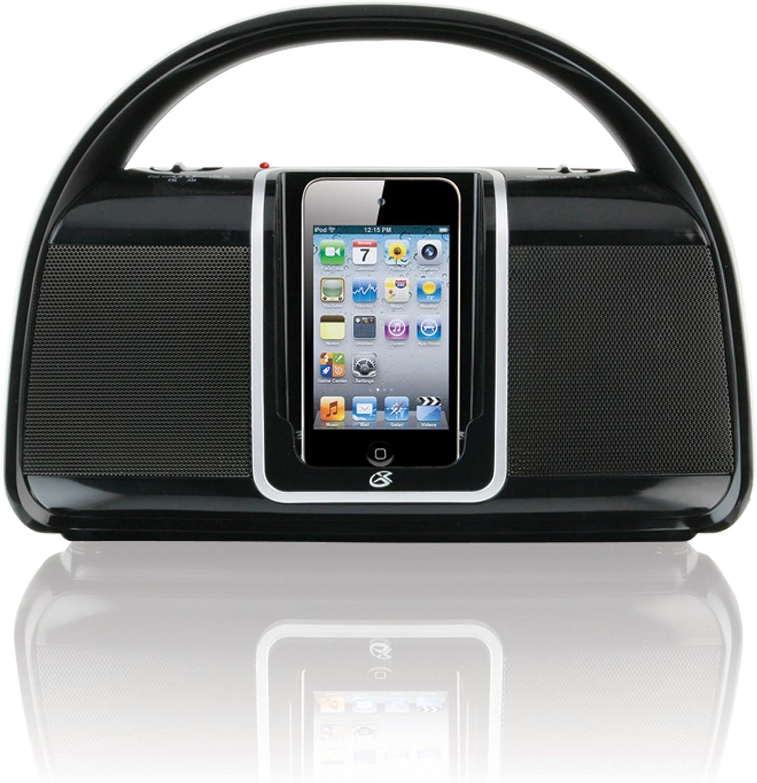 Jensen FM Stereo CD555 Bluetooth Boombox Standard Packaging